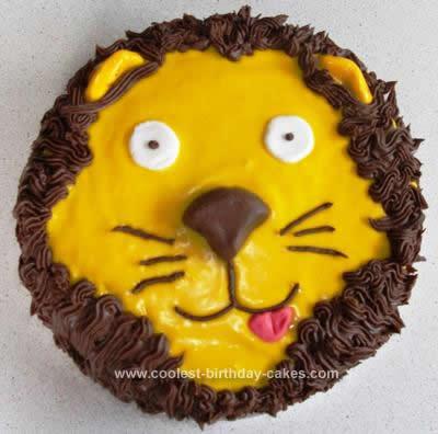 Homemade Ever Lion Cake