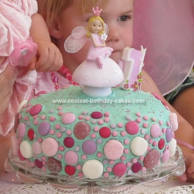 Homemade Fairy Birthday Cake