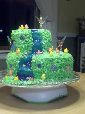 Homemade  Fairy Cake Design