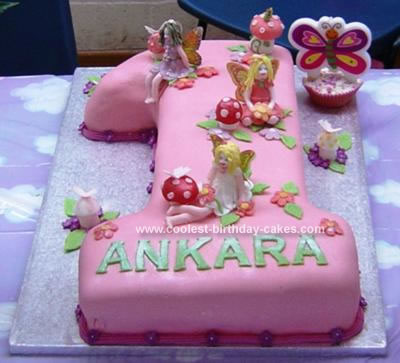 Coolest Homemade Fairies Cakes
