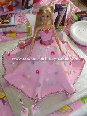Hannah's Fairy Princess Cake
