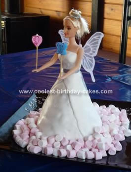 Awesome Homemade Fairy Princess Cake