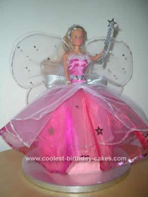Homemade Fairy Princess Cake Design