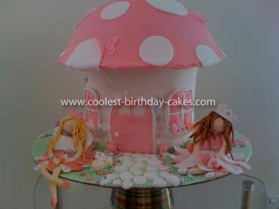 Coolest Fairy Toadstool Cake