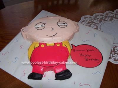 Marvelous Coolest Family Guy Stewie Cake Funny Birthday Cards Online Alyptdamsfinfo