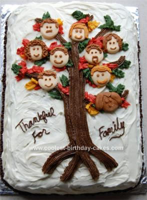 Terrific Coolest Family Tree Cake Funny Birthday Cards Online Aboleapandamsfinfo
