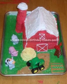 Homemade Farm Cake