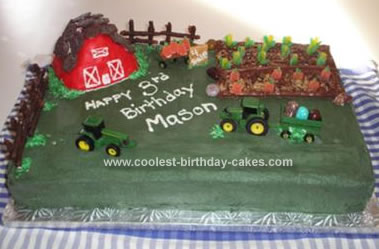 Homemade Farming Cake