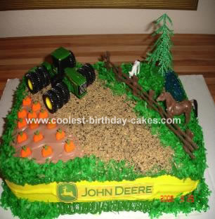 Pleasing Coolest Farming Theme Cake Funny Birthday Cards Online Sheoxdamsfinfo