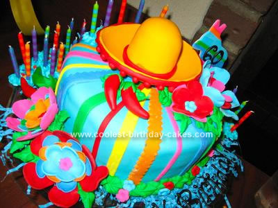 Homemade Fiesta Cake