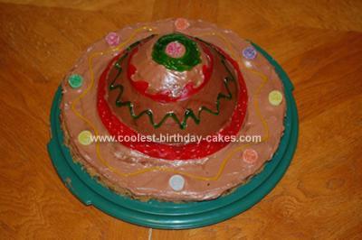 Homemade Fiesta Sombrero Cake