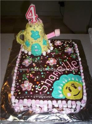Homemade  Fifi Birthday Cake