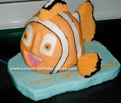 Finding Nemo Cake3-D