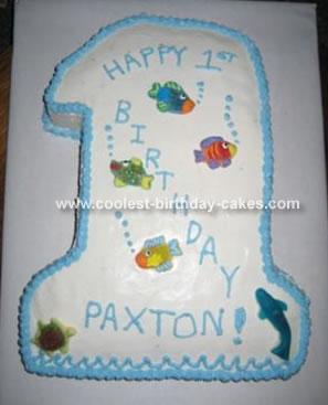 First Birthday Cake