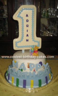 Adrian's 1st Birthday Cake