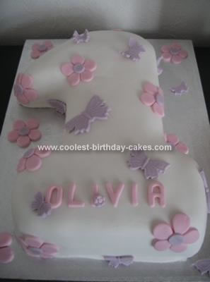 Amazing Coolest Homemade Number One 1St Birthday Cakes Funny Birthday Cards Online Overcheapnameinfo