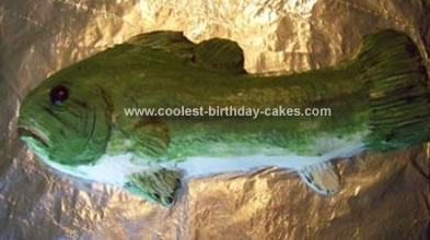 Tremendous Cute Homemade Fish Birthday Cake For A 16 Year Old Personalised Birthday Cards Paralily Jamesorg