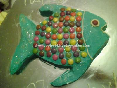 Homemade Fish Birthday Cake