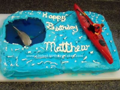 Peachy Coolest Homemade Fishing Cakes Funny Birthday Cards Online Alyptdamsfinfo