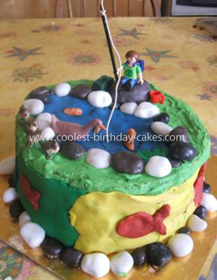 Coolest Fishing Cake