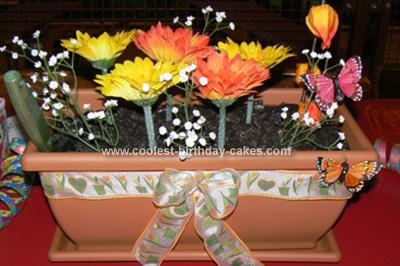Coolest Birthday Cakes & Cool Homemade Flower Pot Cake