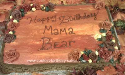 Peachy Coolest Flowers Birthday Cake Funny Birthday Cards Online Unhofree Goldxyz