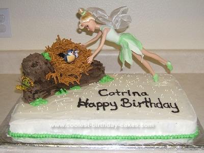Homemade Flying Fairy Cake Design