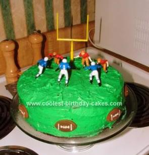 Coolest Football Field Cake