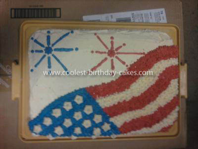 Coolest Fourth of July Cake