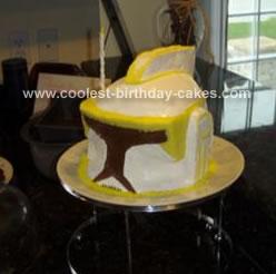 Homemade Fully Edible Commander Cody Cake