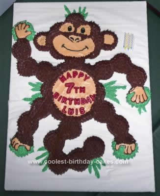 Homemade Funkiest Monkey Cake