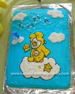 Homemade Funshine Bear Cake