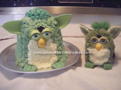 Homemade Furby Cake