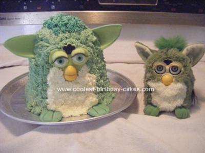 Homemade Furby Cake