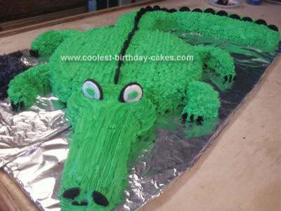 Homemade Gator Cake
