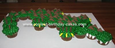Gator Cupcake