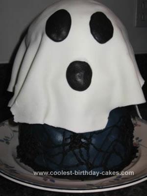 Homemade Ghost Cake