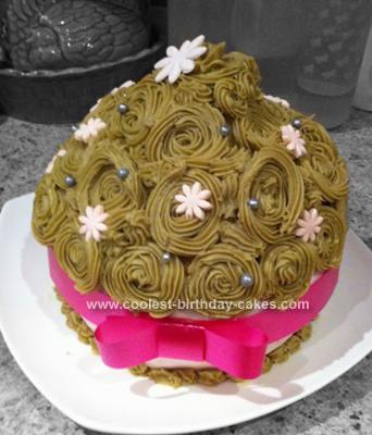 Homemade Giant Cup Cake