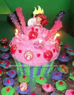 Easy Giant Cupcake Birthday Cake