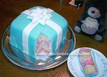 Wondrous Cool Homemade Gift Box Birthday Cake Funny Birthday Cards Online Inifofree Goldxyz