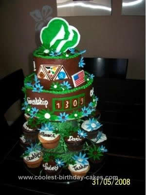 Homemade Girl Scout Cake