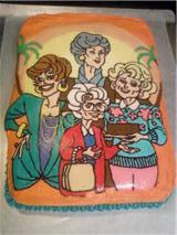Homemade Golden Girls Cake