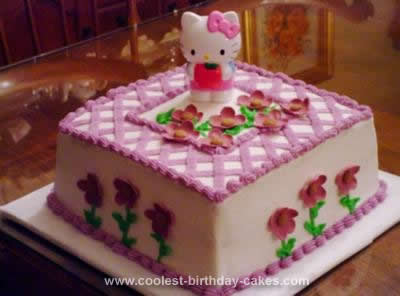 Coolest Gorgeous Hello Kitty Birthday Cake