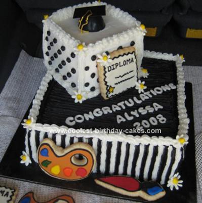 Wondrous 20 Coolest Graduation Cake Ideas For The Diy Cake Enthusiast Personalised Birthday Cards Beptaeletsinfo