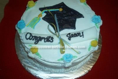 Jean's Graduation Cake