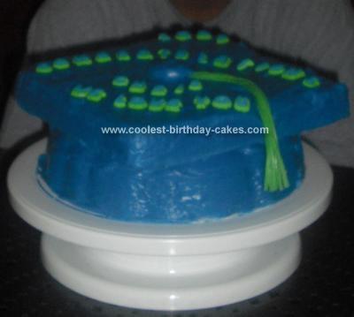Coolest Graduation Cap Cake