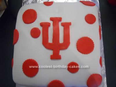 Homemade Graduation Open House Cake
