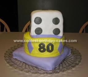 Homemade Grandma's Casino Cake