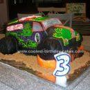 Homemade Grave Digger Cake