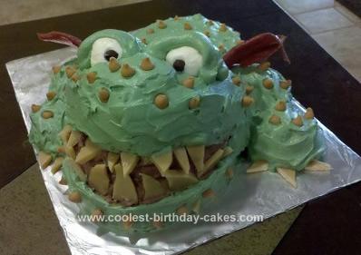 Homemade Gronckle Cake